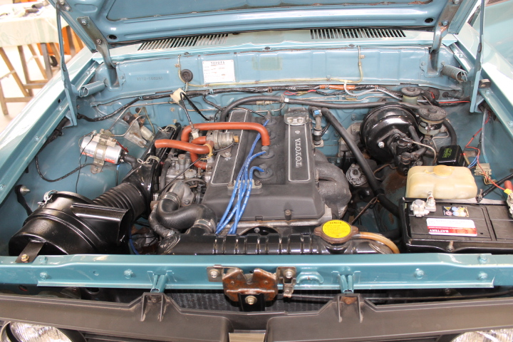 Twin-Cam 2000, 18R-G Engine, 118 hp